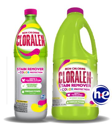 CLORALEN® NON-CHLORINE, COLOR SAFE STAIN REMOVER